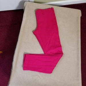 Body by Victoria hot pink pants
